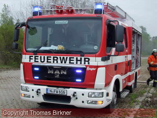 Feuerwehr Nürnberg Einsatz